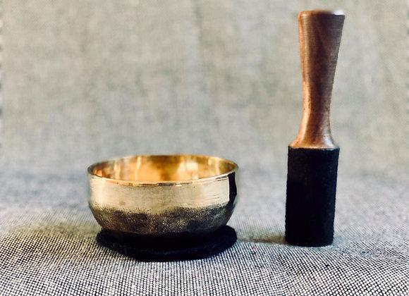 Offre Bol Chantant Tibétain Ishana Black/Gold 11cm