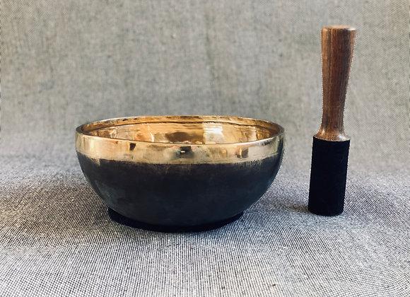 Offre Bol Chantant Tibétain Ishana Black/Gold 21 cm