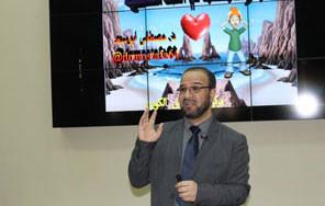 الدكتور مصطفى أبو سعد يحاضر في مركز تقويم وتعليم الطفل