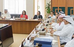 مركز تقويم وتعليم  في اجتماع لجنة شؤون ذوي الاحتياجات الخاصة