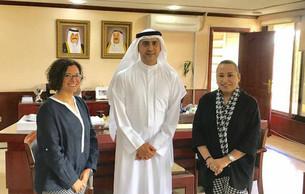 مركز تقويم وتعليم الطفل يقوم بلقاء مع وكيل وزارة التربية