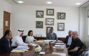 اجتماع اللجنة العلمية لمركز تقويم وتعليم الطفل
