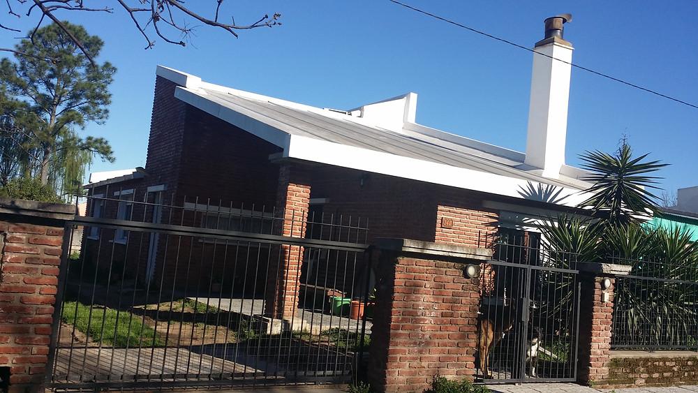Construcción en isodek e isopanel para techo