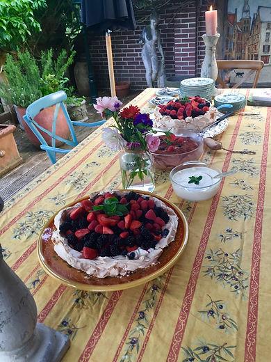 Pavlova recept dessert
