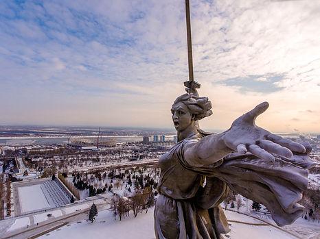 Аэросъёмка в Волгораде