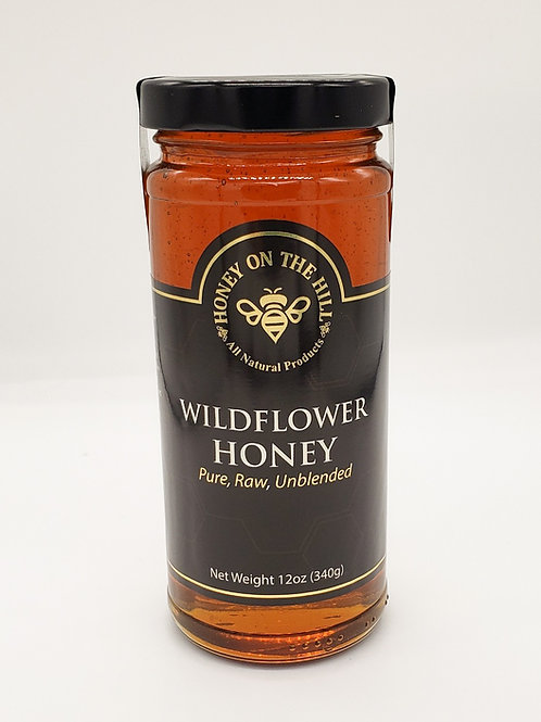 12oz Wildflower Honey