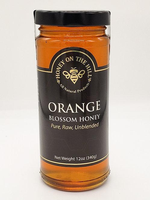 12oz Orange Blossom Honey