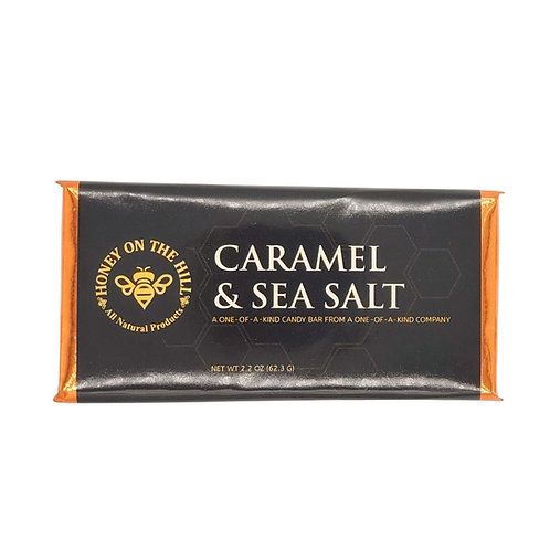Caramel & Sea Salt Candy Bar