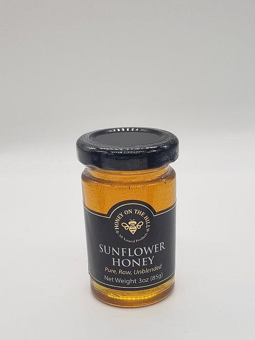 3 oz Sunflower Honey