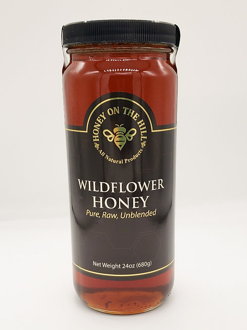 24oz Wildflower Honey