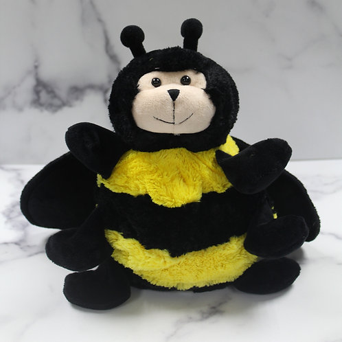 Busy Bee Plush Backpack