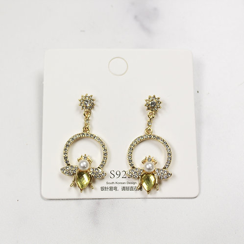 Bee Dazzling Earrings