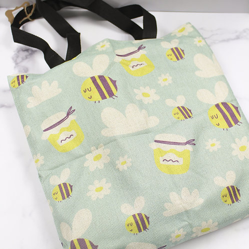 Mint to Bee Reusable Tote