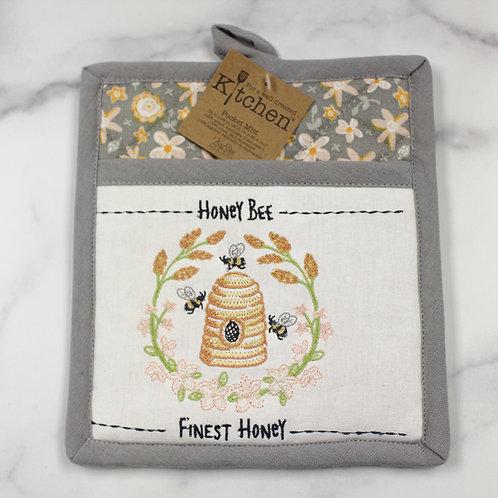 Honey Bee Hive Potholder
