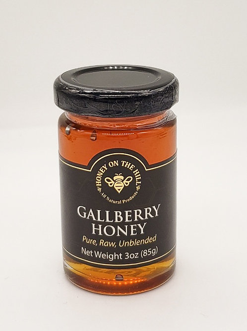 3 oz Gallberry Honey
