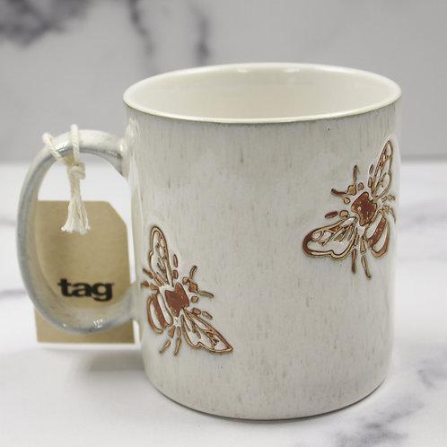 Rustic Farmhouse Bee Mug
