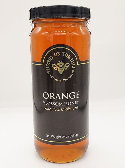 24oz Orange Blossom Honey