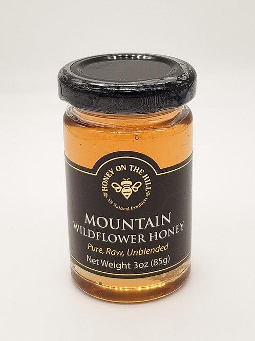 3 oz Mountain Wildflower Honey