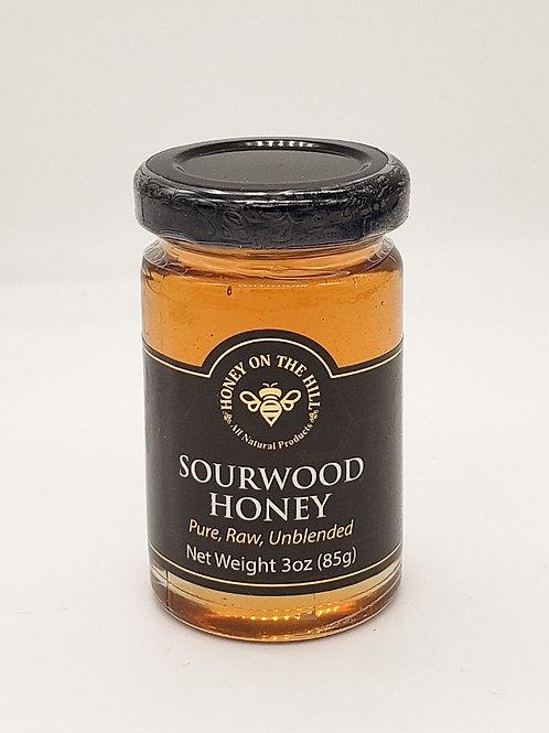 3 oz Sourwood Honey