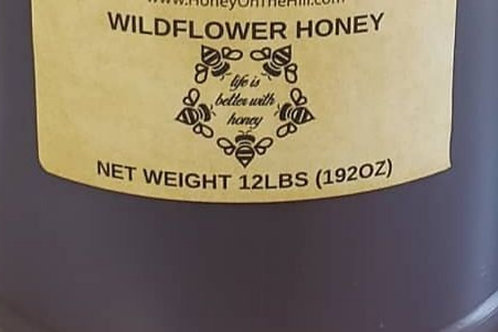 1 Gallon wildflower honey