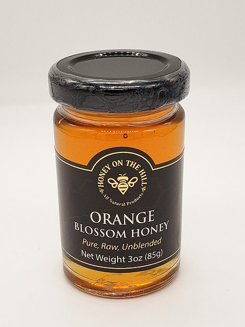 3 oz Orange Blossom Honey