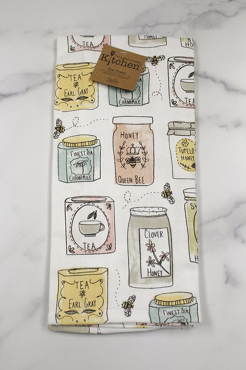 Honey Pot Kitchen Towel