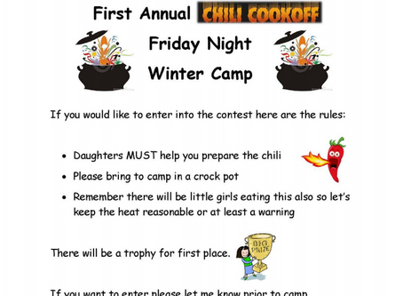 New Edition to Winter Camp
