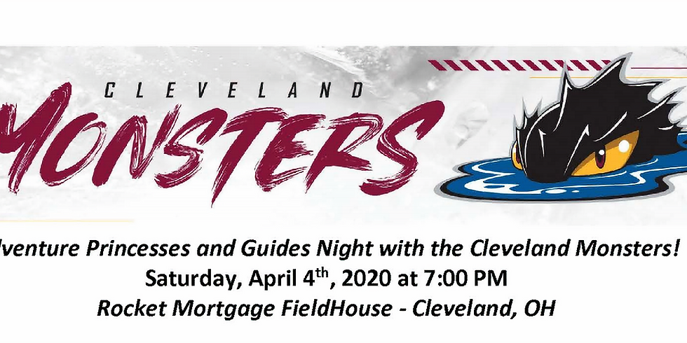 Night at the Cleveland Monsters