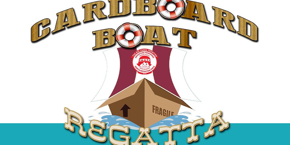 Cardboard Boat Regatta