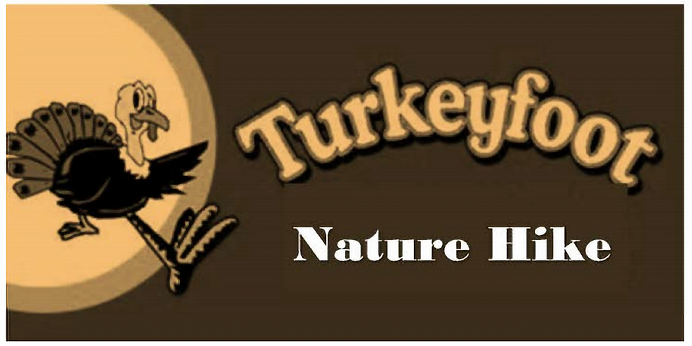 Turkeyfoot Nature Hike / Scavenger Hunt with craft