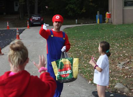 Mario spotted at Fall Camp 2019
