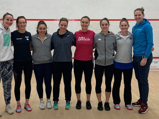Celebrating Women's Squash Week