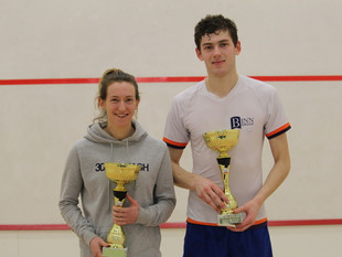 Squash pros headed for Boston