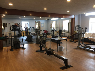 Gym refurb completed