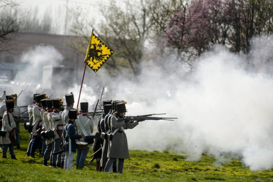 """""""VÉRTES"""" osztrák gyalogság"""
