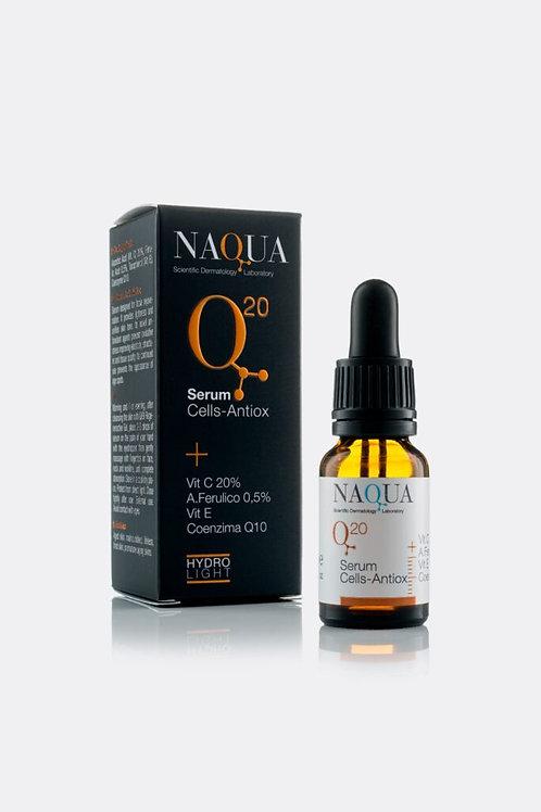 Q20 Serum Cells-Antiox + Vit C 20% A.Ferúlico 0,5% Vit E 0,12% Coenzima Q10 S