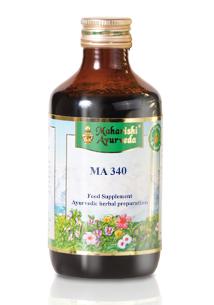MA 340, Emésztést segítő növényi kivonat D2, (Herbal Digest Elixir D2), 200 ml