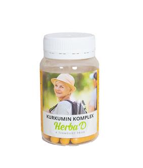 Kurkumin komplex  étrend-kiegészítő 30 db növényi kapszula