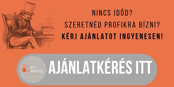 Facebook oldal kezelés Győrben- Hyper Marketing ajánlatkérés