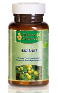 Amalaki ájurvédikus gyógynövény készítmény, organikus, 42 g/ 60 caps