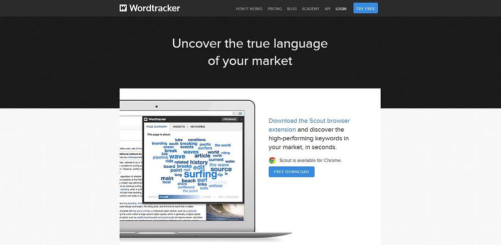 Wordtracker kulcsszó kutatás eszköz letöltése
