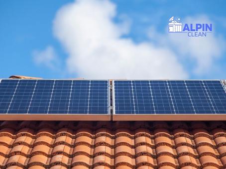 6 dolog, amit egy napelem tisztító gép nyújt!