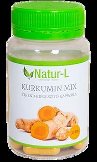 Kurkumin mix  30 db étrend-kiegészítő kapszula