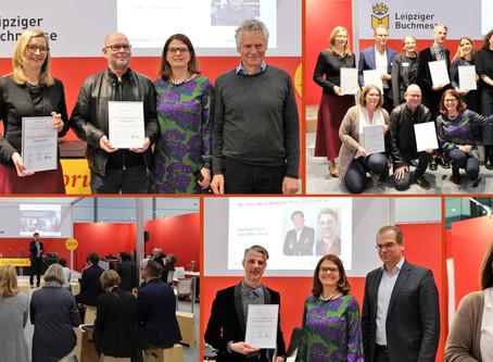 Juliane Seyfarth und Thomas Schmitz erhalten den SALES AWARD