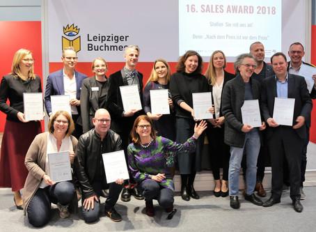 Sales Award 2019 — Nominierungen ab jetzt!