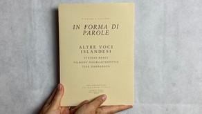 «Altre voci islandesi», In forma di parole 3:2013