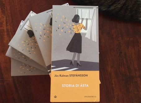 Jón Kalman Stefánsson, Storia di Ásta, Iperborea, Milano 2018