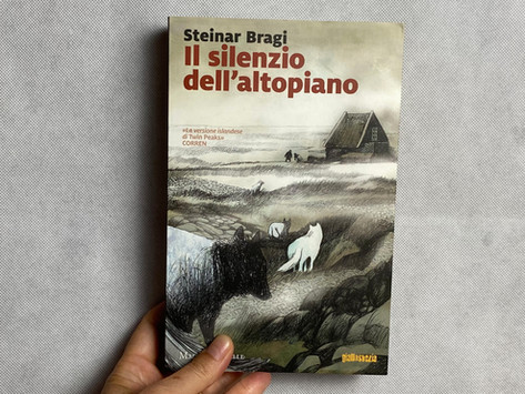 Steinar Bragi, Il silenzio dell'altopiano, Marsilio, Venezia 2017
