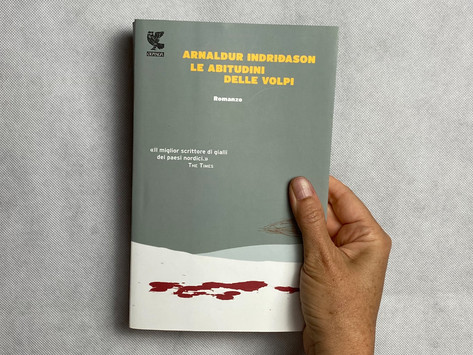 Arnaldur Indriðason, Le abitudini delle volpi, Guanda, Milano 2013