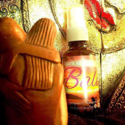 Spirit of Bali, spray aux huiles essentielles